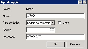 Tutorial: Configurando WPAD no pfSense utilizando DHCP do Windows