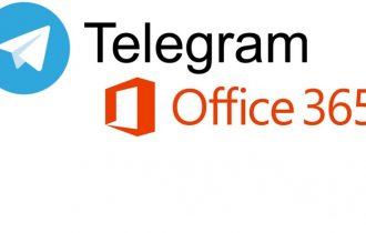 Grupo de Office 365 no Telegram