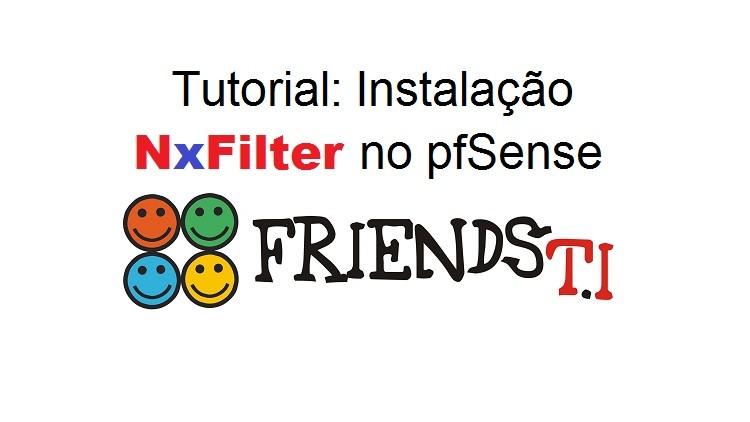 Tutorial: Instalação NxFilter no pfSense