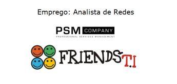 Emprego: Analista de Redes Pleno – PSM Company