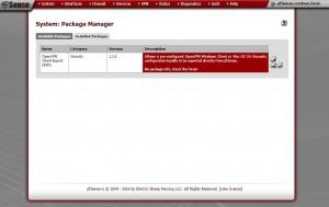 Instalação OpenVPN Client Export Utility
